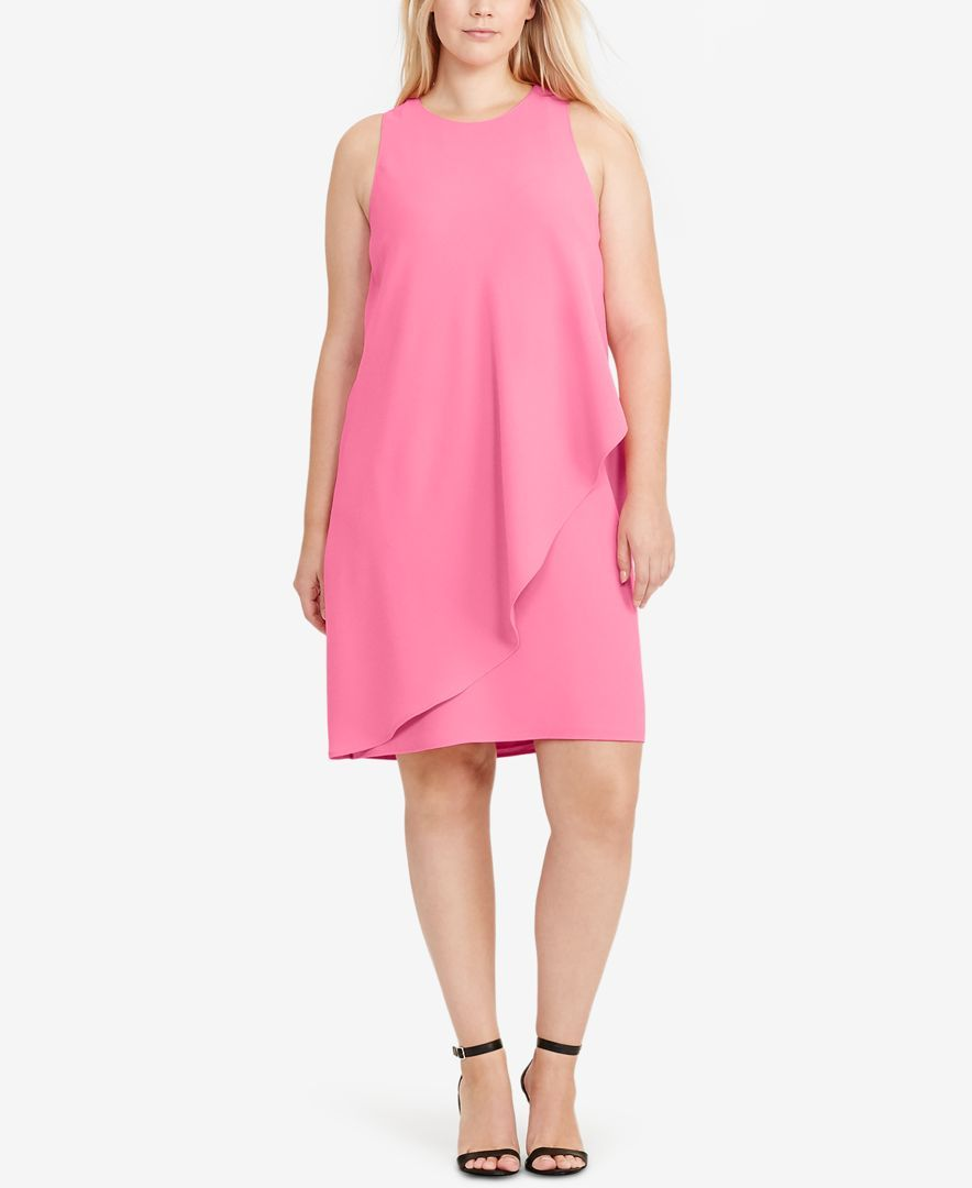 Lauren Ralph Lauren Plus Size Sleeveless Shift Dress Products
