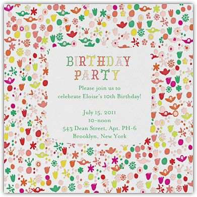 You Re Cordially Invited To The Birthday Party Of The Year