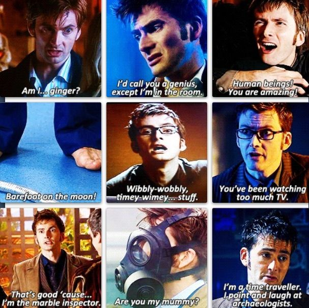 Doctor Who 10th Doctor Quotes