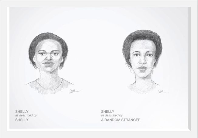 Dove Hires Criminal Sketch Artist To Draw Women As They See