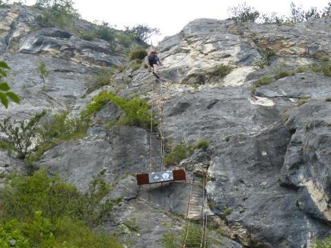 Klettersteig Vogesen : Klettersteig vogesen lac blanc gazon du faing biken in den