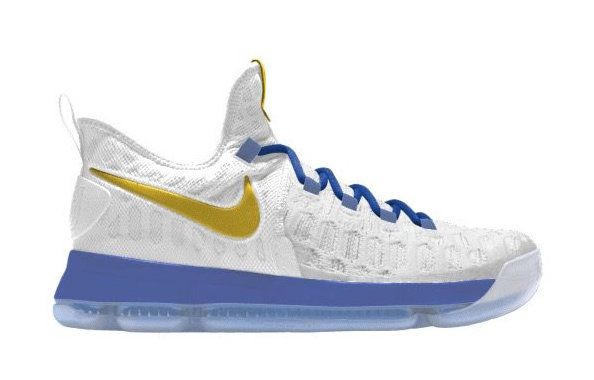 buy popular d6e03 d2499 czech design your own nike kd 9 warriors colorway on sneakerscartel a38a8  1117c