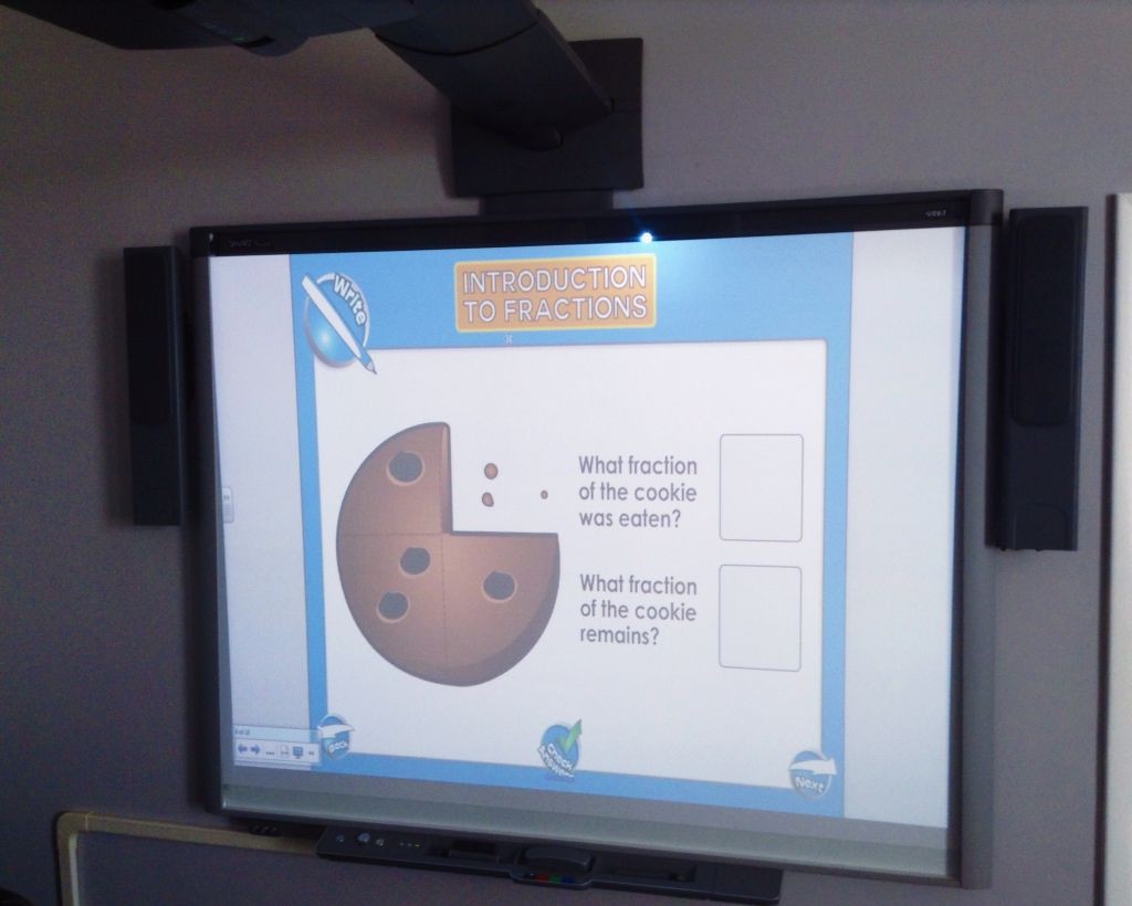 Cookies Are A Great Way To Learn About Fractions Try Out