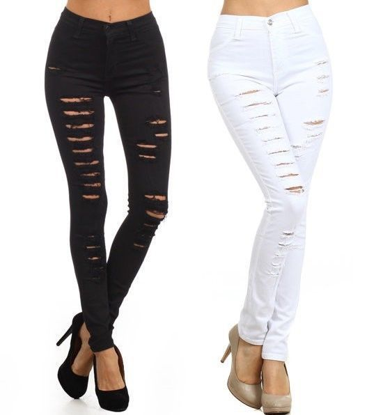 High waisted jeans for plus size juniors