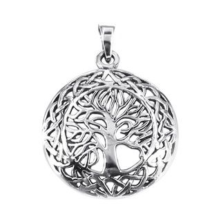 Mystic celtic frame tree of life sterling silver pendant thailand mystic celtic frame tree of life sterling silver pendant thailand overstock shopping aloadofball Image collections