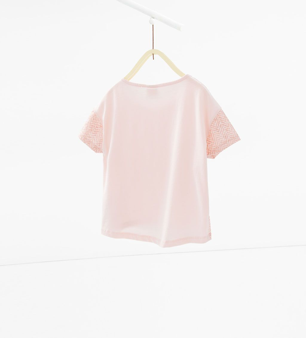 ZARA - KIDS - Shiny print T-shirt