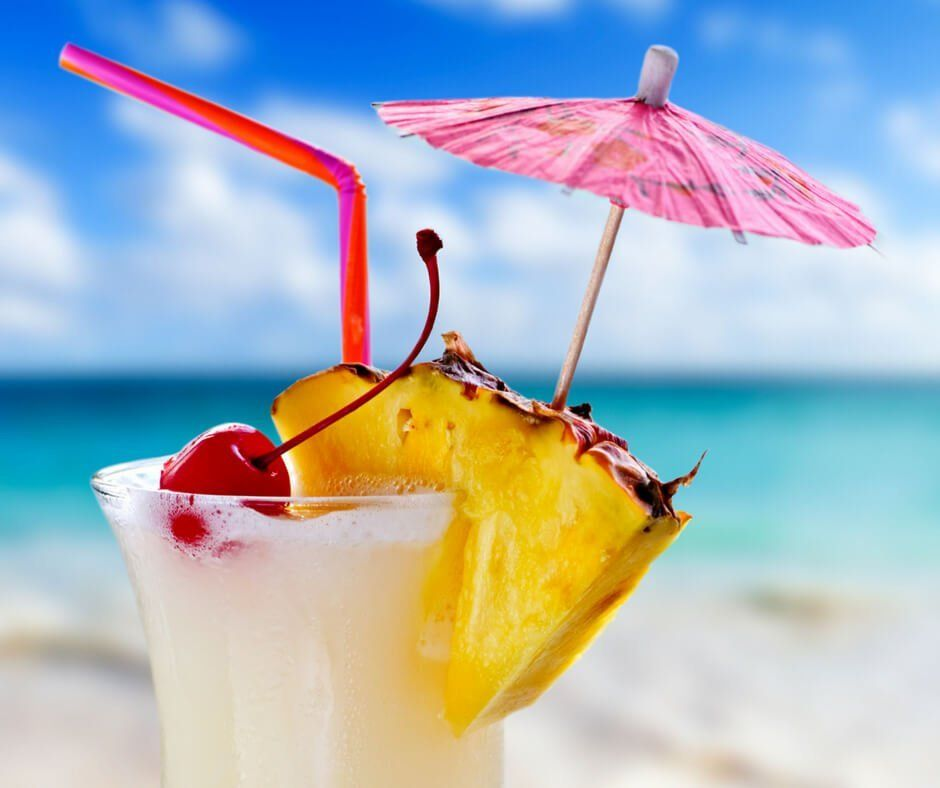 20 Frozen Tropical Drinks That Make You Feel Like You're