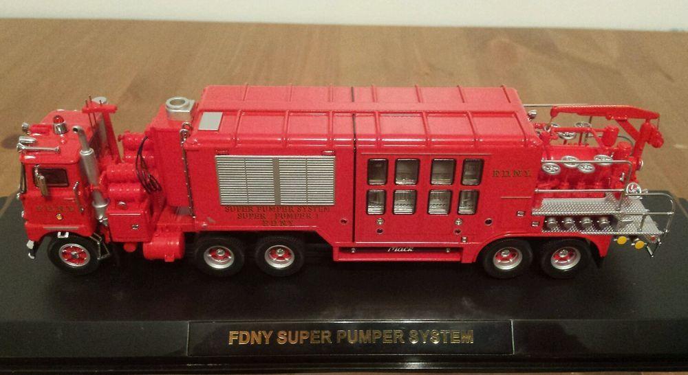 Code 3 FDNY Super Pumper System Super Pumper 1 Mack Truck