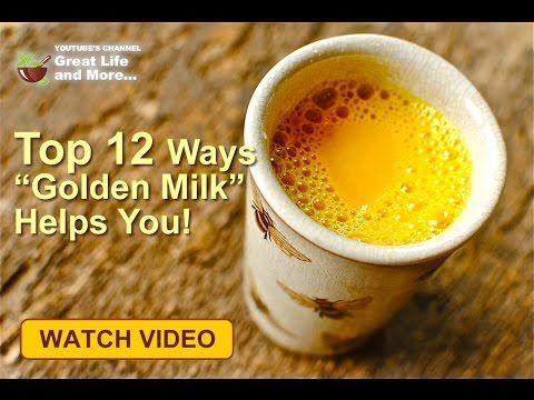 """😍 Top 12 Ways """"Golden Milk"""" Helps You!"""