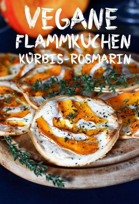 Vegane Flammkuchen mit simply v Frischkäse #veganerezepte