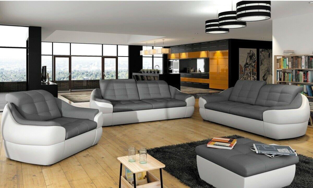 Couch Garnitur Sofa 3er 2er 1er Koblenz Sofagarnitur Strukturstoff Sessel Design In 2020 Sessel Design Wohnzimmer Sofa Sofa Design
