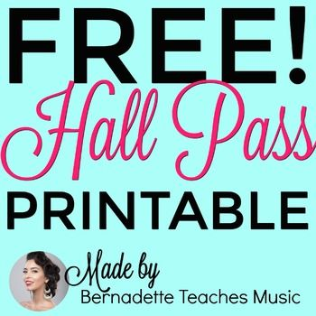 photograph regarding Hall Pass Printable identify Sophisticated, Vibrant, Totally free Printable Corridor P Assortment TPT