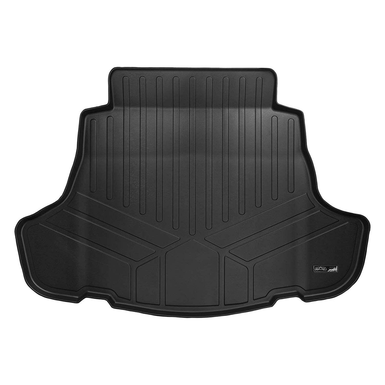 SMARTLINER Custom Fit Floor Mats 1st Row Liner Set Black for 2019-2020 Volkswagen Jetta