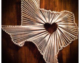 Items Similar To Nail String Art Heart On Etsy Jessicabotellas