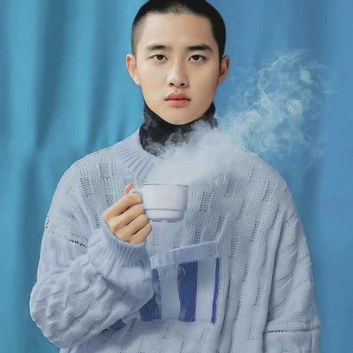 Exo Anime Kyungsoo Album Universe Winter Kpop Cosmos The Card Book
