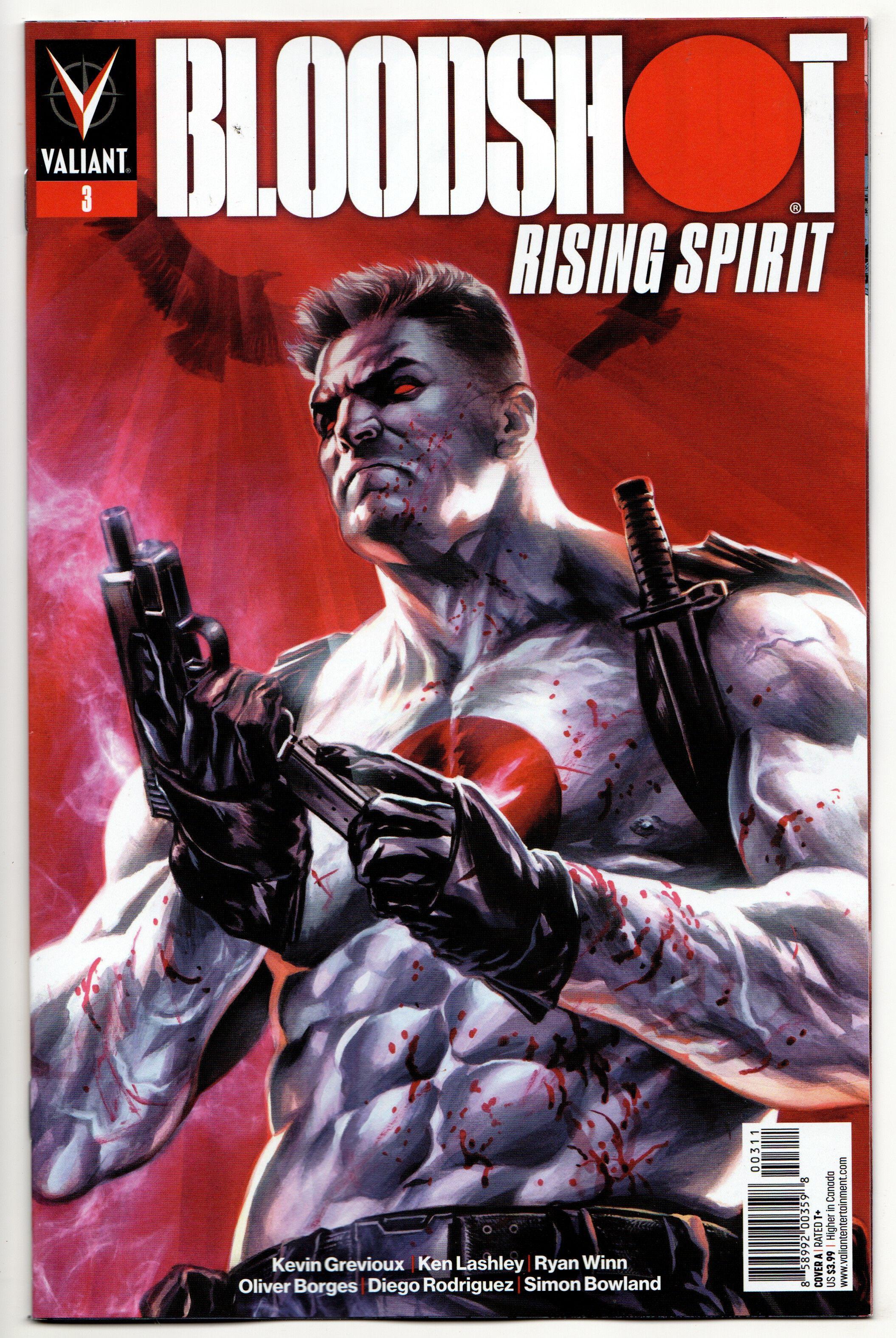 2.39 Bloodshot Rising Spirit 3 Cvr A (Valiant, 2019) NM