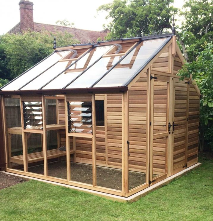 o acheter une serre en bois anglaise serre en bois serre et en bois. Black Bedroom Furniture Sets. Home Design Ideas