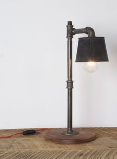 plumbing pipe floor lamp | Sean Woolsey Handmade furniture, pipe ...