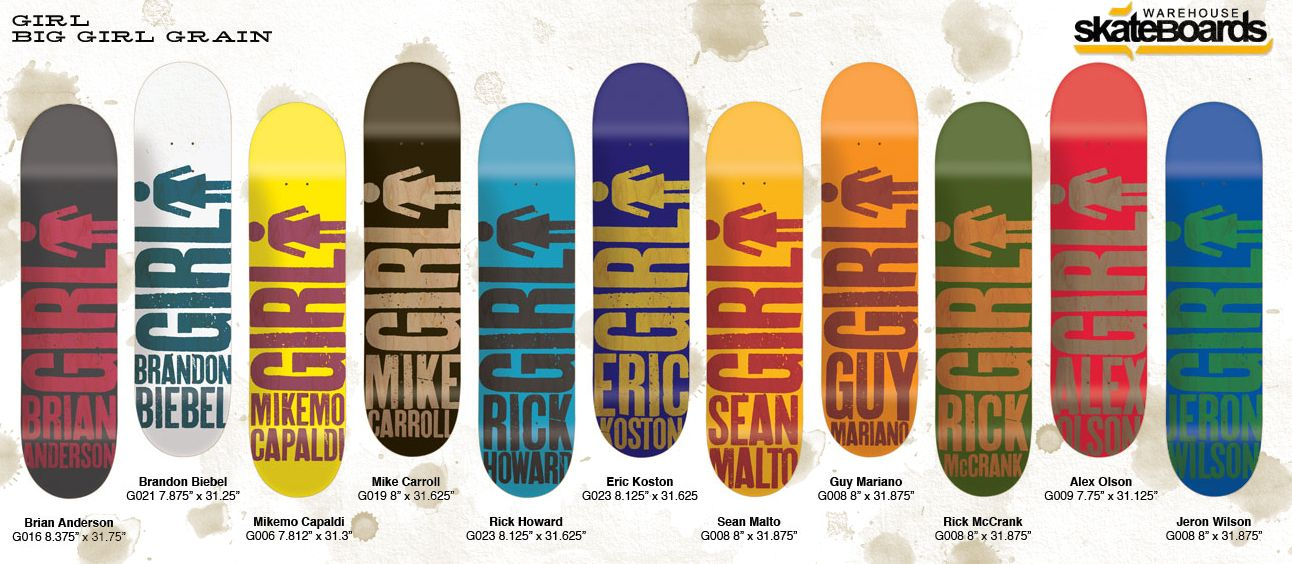 Girl skateboards biggirlgrain girl skateboards big girl grain deck girl skateboards biggirlgrain girl skateboards big girl grain deck series now available voltagebd Gallery