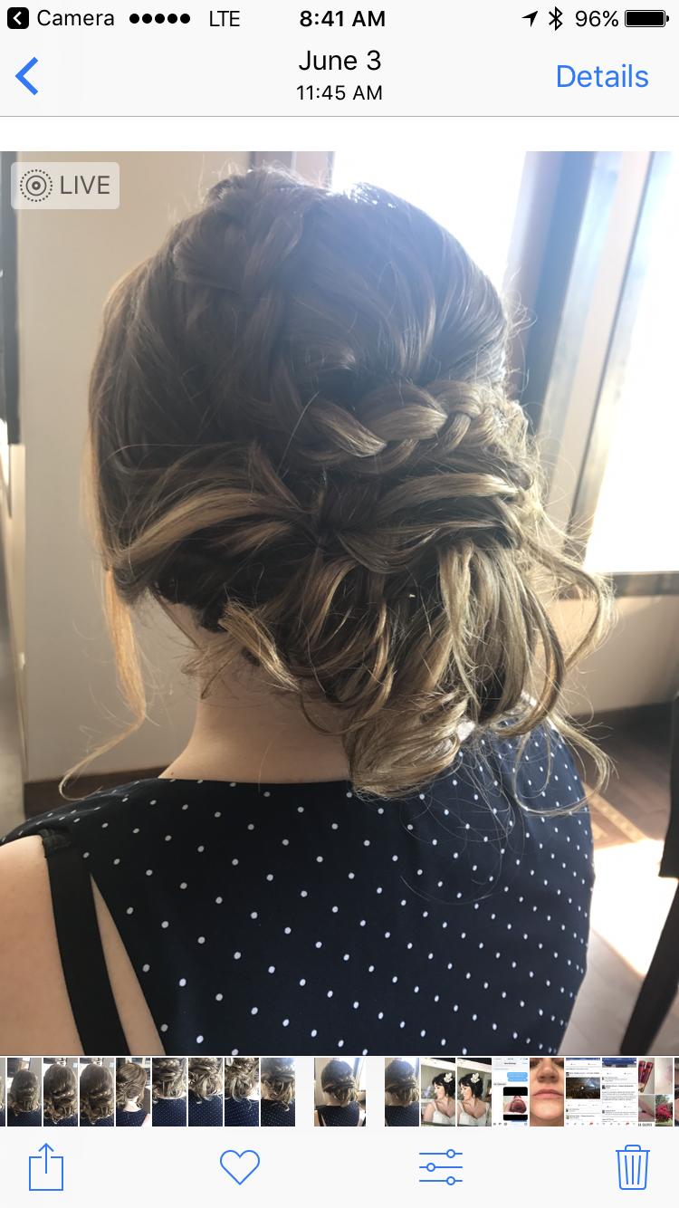 Hair by Beautiful Calgary Bride Wedding hairstyles, Hair
