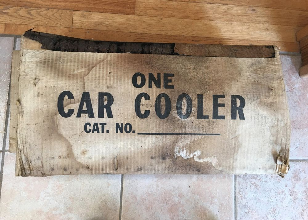 Vintage Sheldon's Thermador Swamp Cooler Air Conditioner
