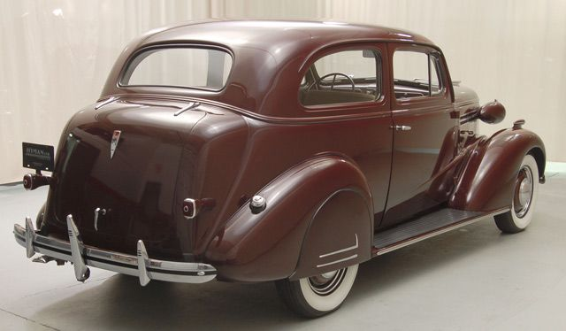 1938 Chevrolet Master Deluxe Passenger Side Rear View With