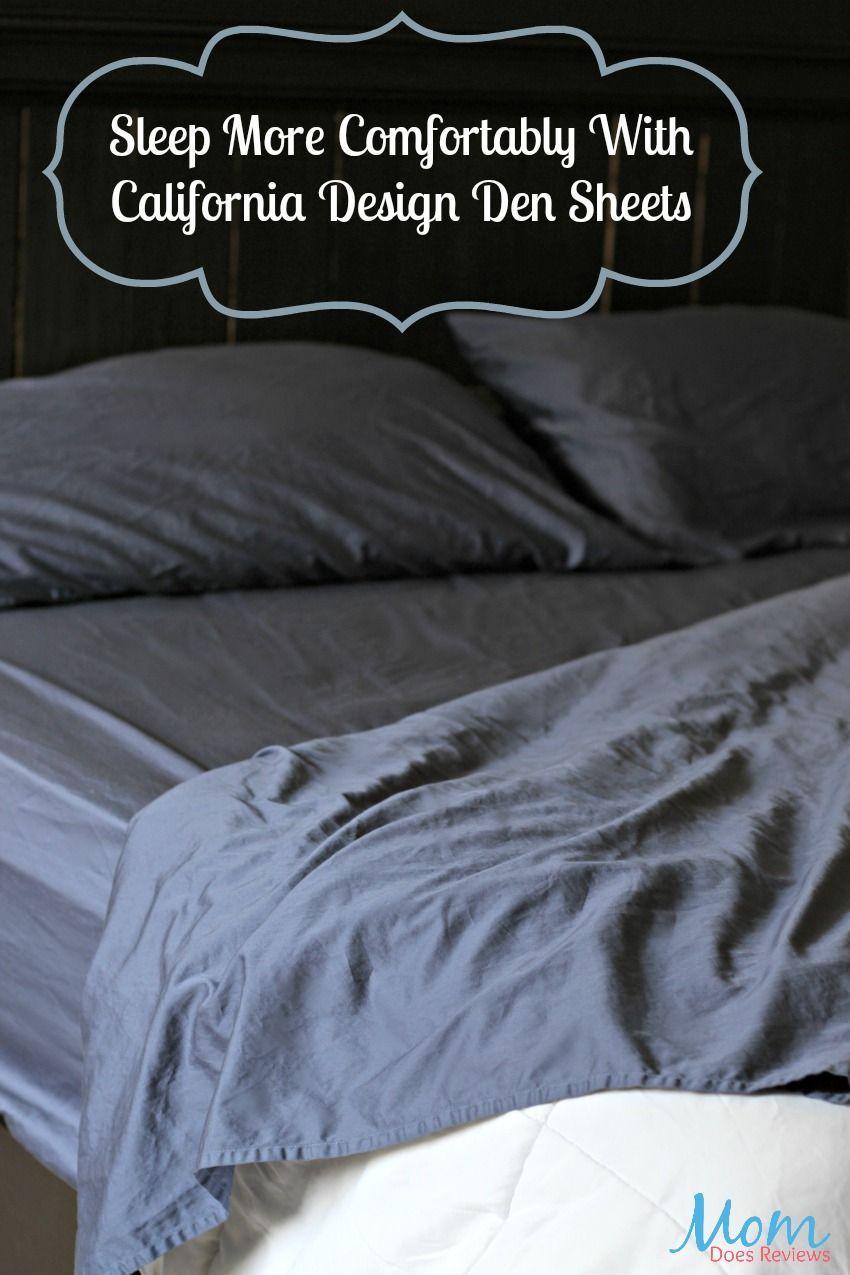 Sleep Comfortably In California Design Den Sheets Back2school18