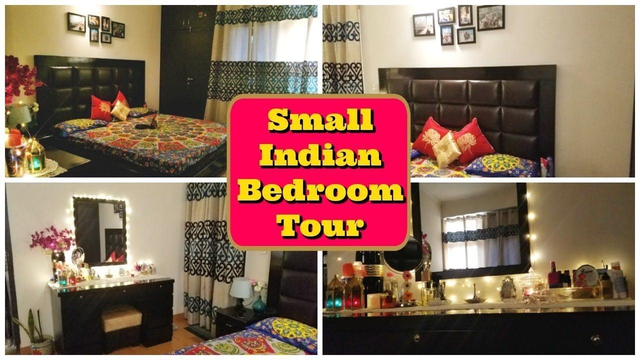 Small Indian Bedroom Tour Small Bedroom Decor Organization Indian Mom Studio Indian Bedroom Small Bedroom Decor Bedroom Design