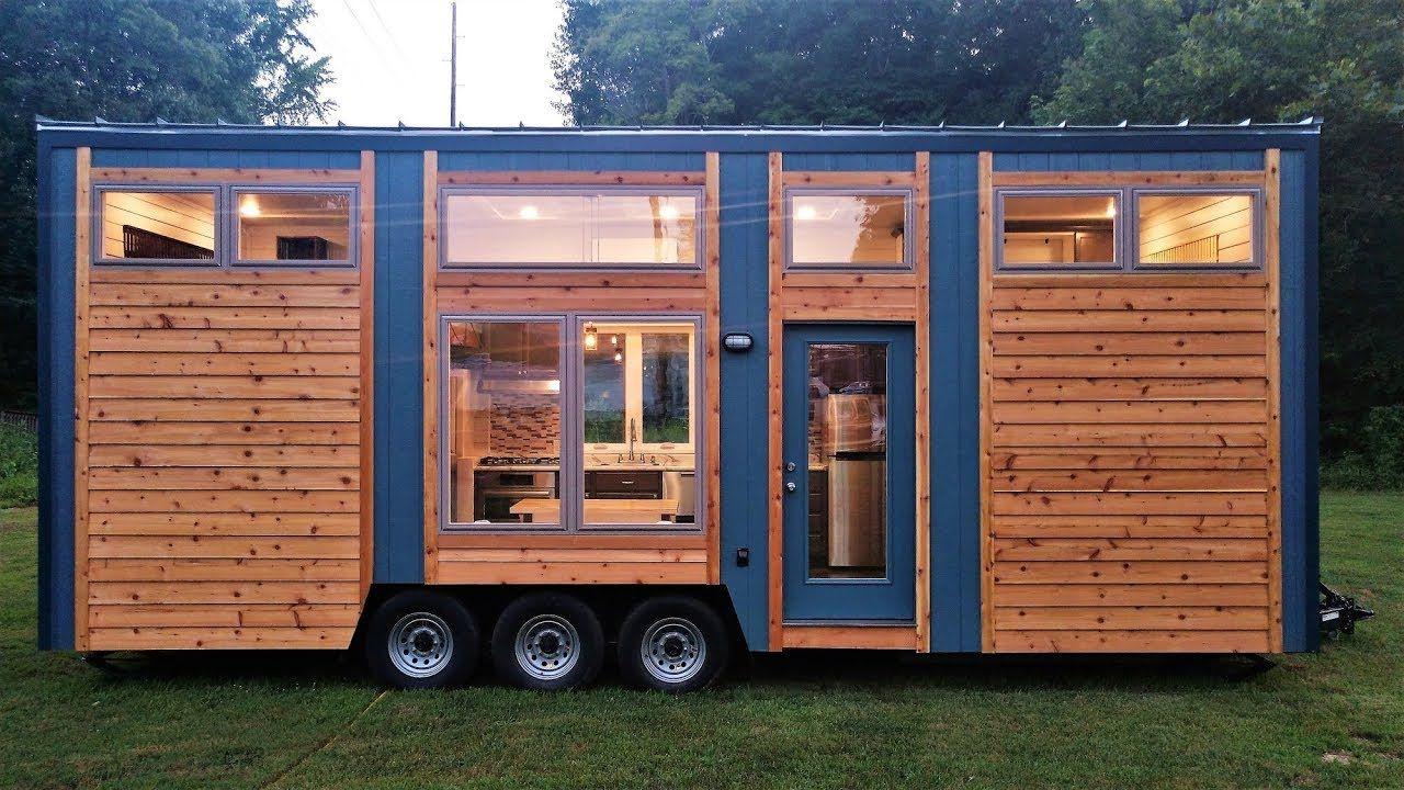 Tour The Beautiful Blue Heron Tiny House Youtube Tiny Living