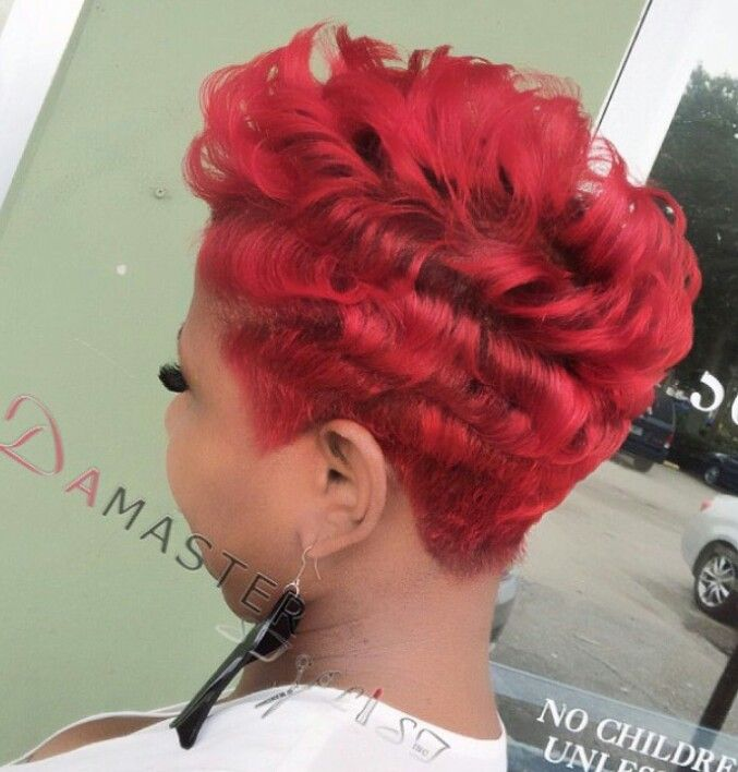 I just love a red head