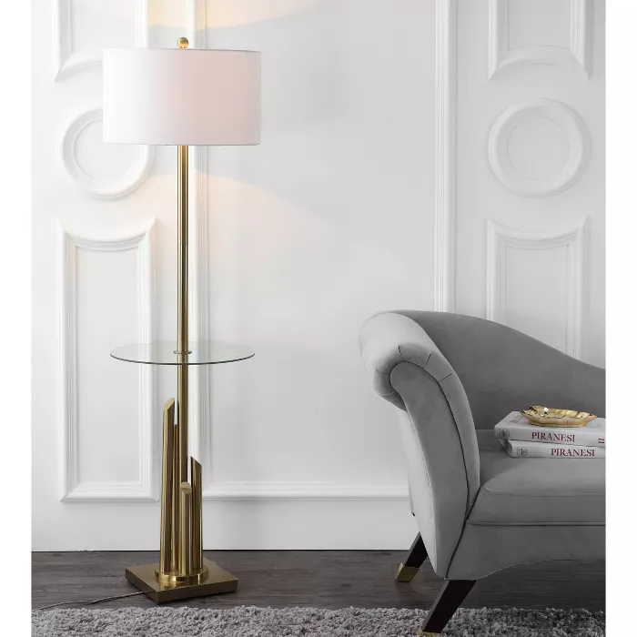 61 Ambrosio Floor Lamp Side Table, What Floor Lamp Gives Off The Most Light