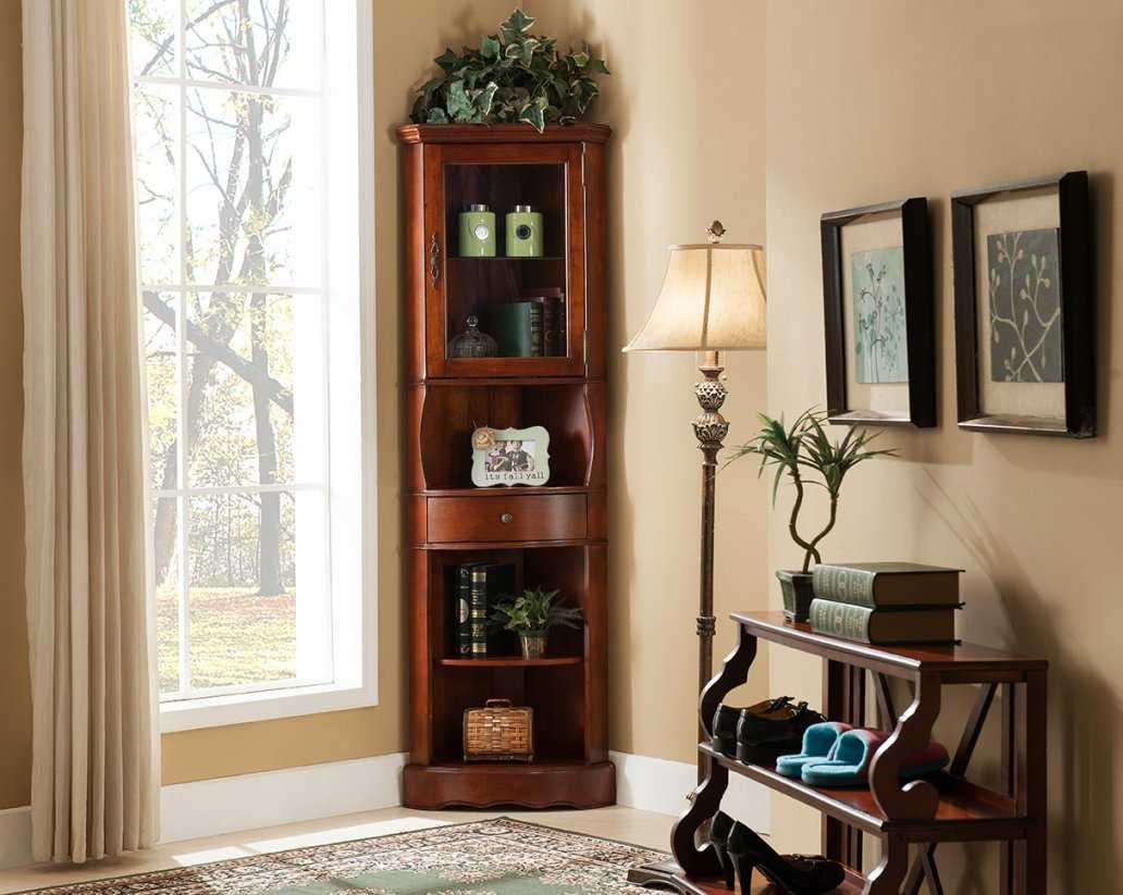 Corner Cabinets Living Room With Attractive For ...