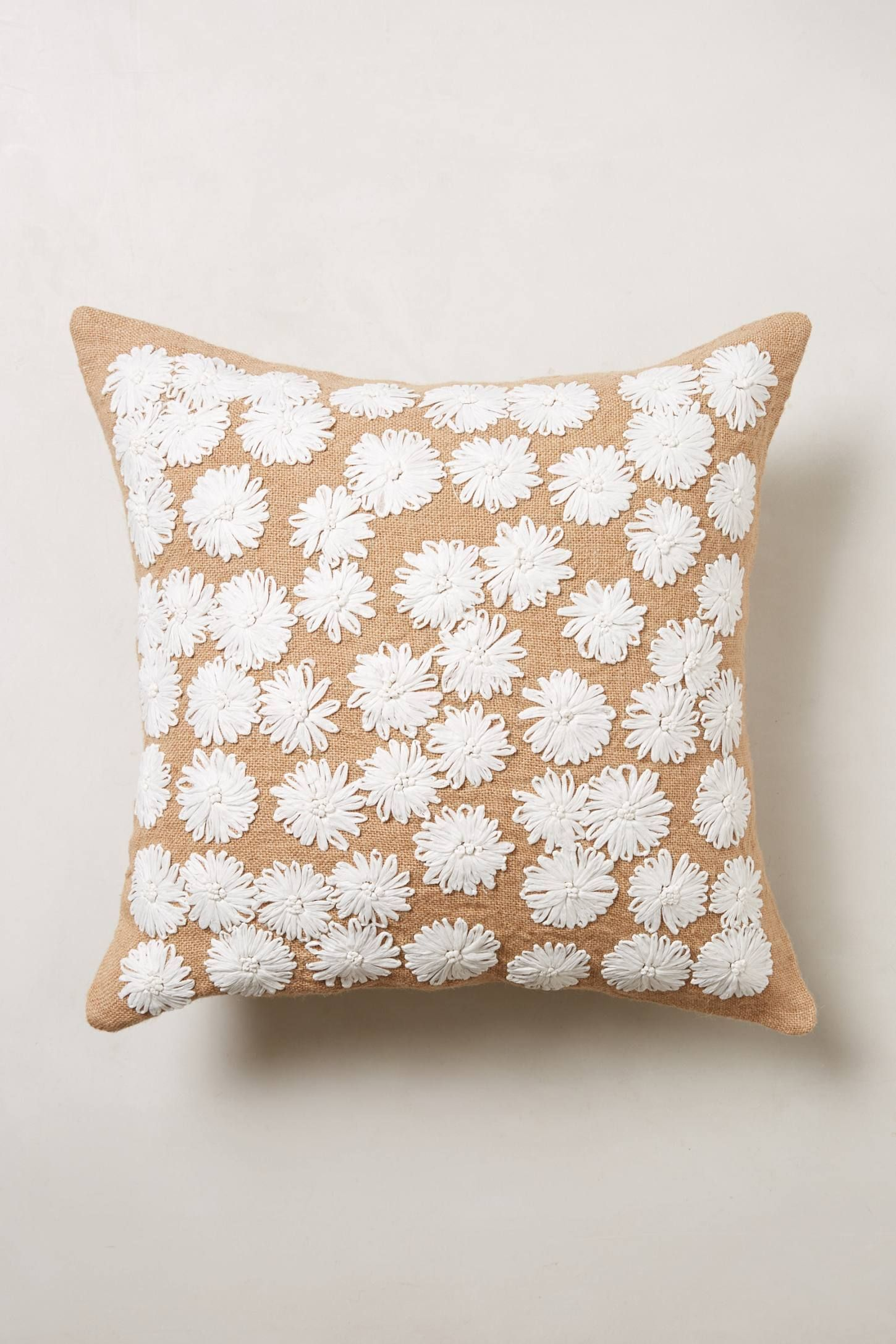 Throw Pillows Luxury : Looped Petals Pillow - anthropologie.com Home love Pinterest Pillows, Needlework and ...