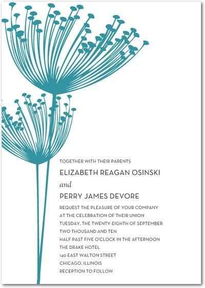 Wedding Stationery Wednesday Turquoise Wedding Invitations