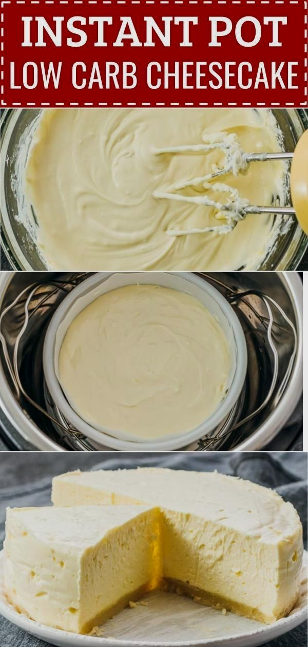 Karen Allen saved to Instant pot recipesPin2kThis best low carb Instant Pot cheesecake is so easy, quick, and simple to make when you use an electric pressure cooker. It has lemon and vanilla flavors, and tastes like a luscious and rich New York…More 8 Mouth Watering Keto Diet Friendly Instant Pot Recipes #keto_recipes #Keto_diet #simplecheesecakerecipe