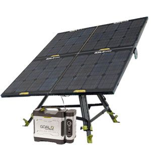 120 Watts Of Power With A 350 Watt Battery Charge This Batman Solar Kit Solar Solar Camping