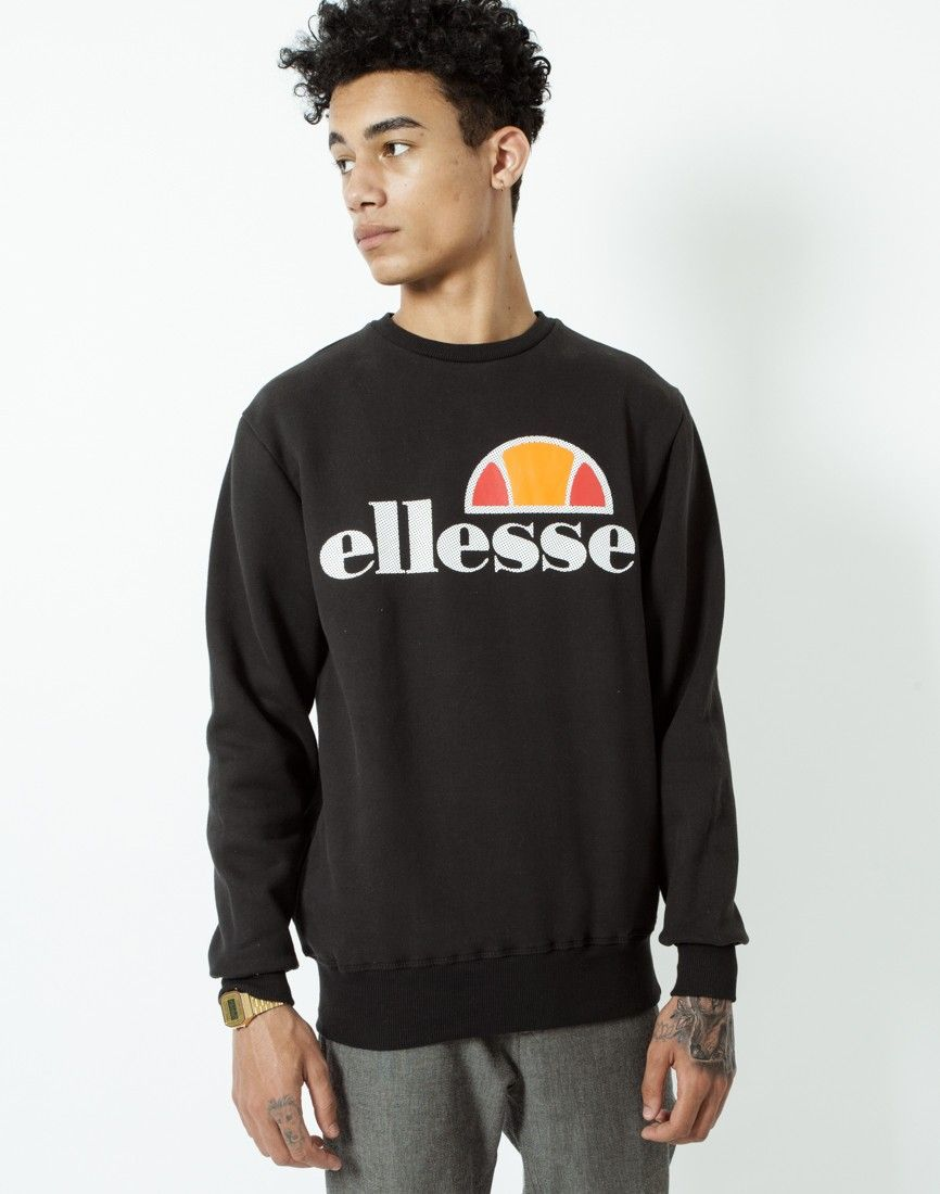 Ellesse Sweatshirt with Classic Logo | Shop men's clothing at The Idle Man