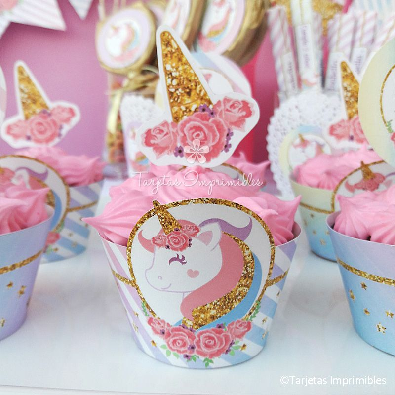Unicornio kit de decoraciones fantasy party for Decoracion para pared unicornio