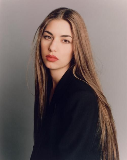 Sofia Coppola by Steven Meisel / classic beauty inspired by  #LincolnBlackLabel