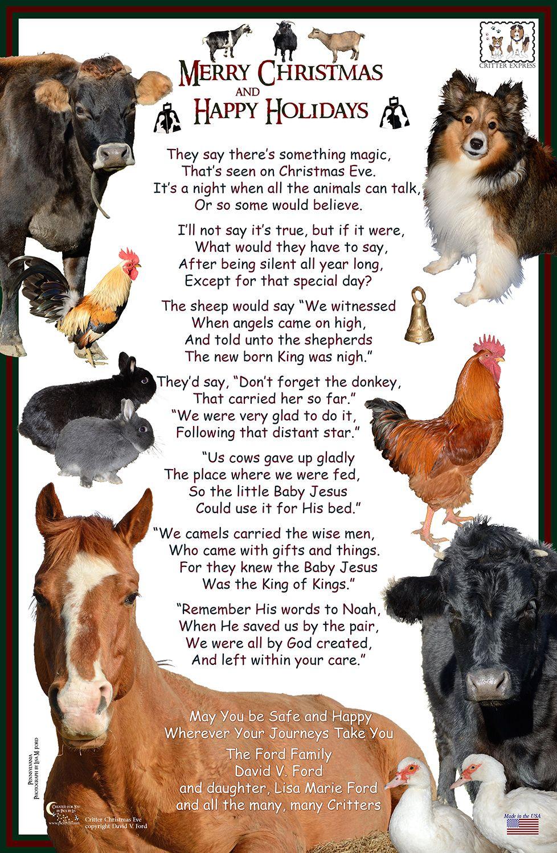 Happy Christmas and Merry Holidays | B.S. Blog (Barnyard Stories ...