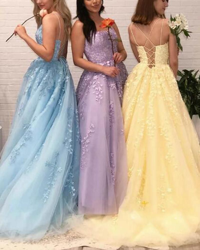 Girls Prom Dress Long Sweet 16 Party Dress Leaf Lace Embroidered Gown Lace Up Back Pl0703 Prom Dresses For Teens Prom Dresses Cheap Prom Dresses Long [ 1000 x 800 Pixel ]