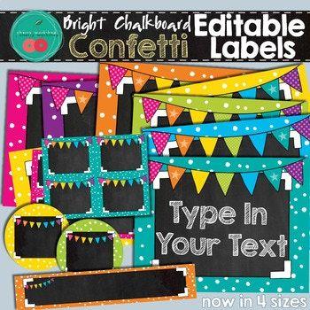 Chalkboard Labels Create certificate, Bulletin board and - create a certificate in word