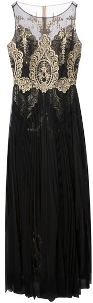 Notte By Marchesa Embroidered Evening Gown - Lyst   jaglady