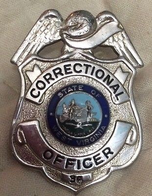 Merveilleux Vintage OBSOLETE Correctional Officer West Virginia Badge 36 County Jail,  Police Badges, Cops,