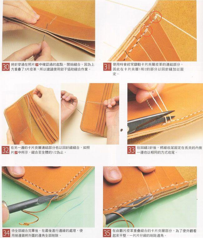7503e339ff63 кошелек выкройка с размерами   сумки та аксесуари   Leather wallet ...