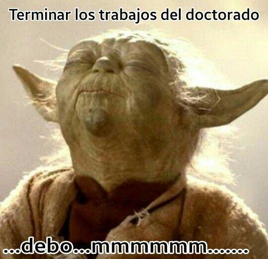 Doctorado Santa Funny Humor Poster