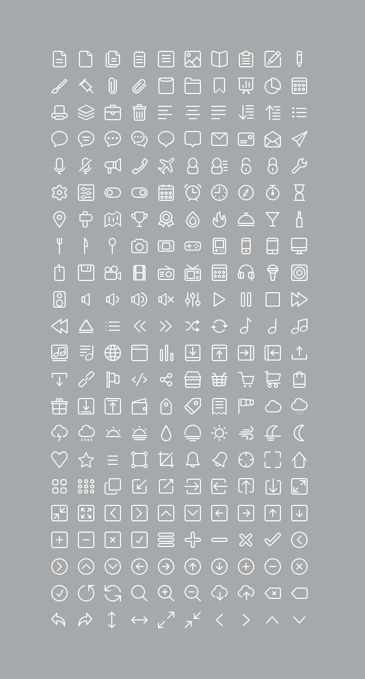 220 Free Icons Set - - Fribly