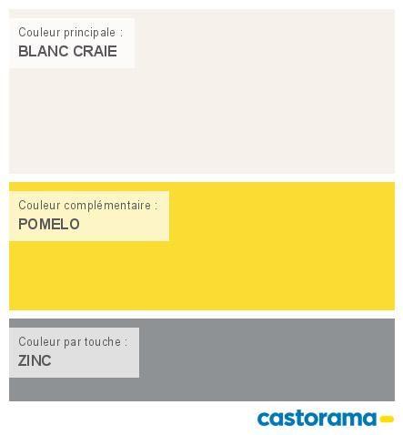Castorama Nuancier Peinture - Mon harmonie Peinture BLANC CRAIE ...