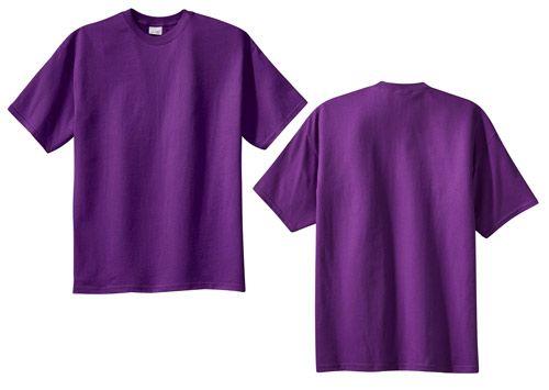 Basic Blank Purple T Shirt Short Sleeves Cotton Purple T Shirts Organic Cotton T Shirts T Shirt