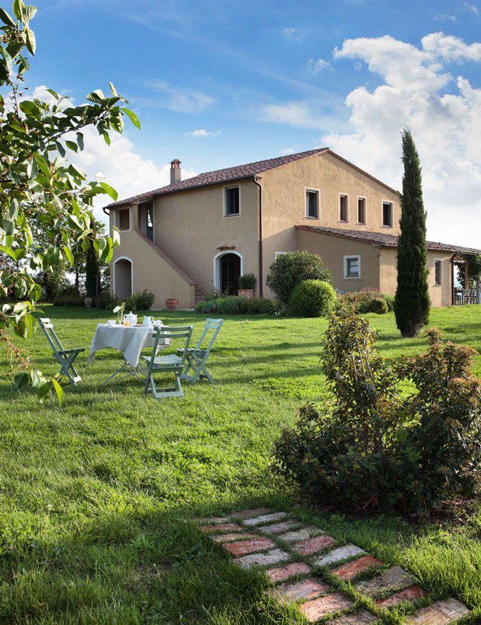 Villa in Toscana Stile toscano, Esterni casali e Casa